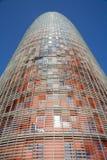 agbar barcelona torre Fotografering för Bildbyråer