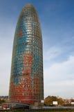 agbar barcelona torre Royaltyfria Foton