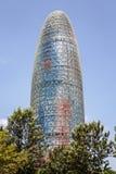 agbar barcelona torre Royaltyfria Bilder