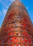 Agbar färgrikt torn Royaltyfri Foto