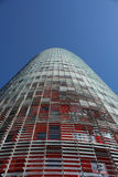 Agbar Kontrollturm, Torre Agbar auf spanisch Lizenzfreie Stockfotos