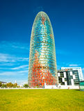 Agbar tower, Barcelona Royalty Free Stock Image