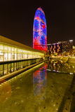 Agbar tower in Barcelona Royalty Free Stock Photography