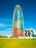Agbar wierza, Barcelona Obraz Royalty Free