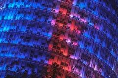 Agbar wierza w Barcelona - 10/02/2010 Zdjęcie Stock