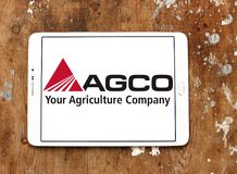 AGCO agricultural equipment manufacturer logo Royalty Free Stock Photography