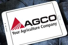 AGCO agricultural equipment manufacturer logo Royalty Free Stock Image