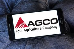 AGCO wytwórcy sprzętu rolniczy logo Obrazy Royalty Free
