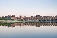 Agdal pond at Meknes, Morocco Stock Image