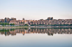 Agdal pond at Meknes, Morocco Royalty Free Stock Image