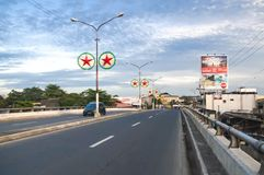 Agdao flyover connecting Leon Garcia and Cabaguio Avenue, by-pas Stock Photography