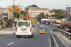 Agdao flyover connecting Leon Garcia and Cabaguio Avenue, by-pas Stock Images