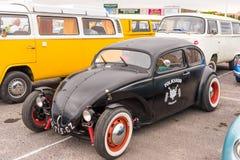 AGDE FRANCJA, WRZESIEŃ, - 9, 2017: Czarny bieżny samochód Obrazy Stock
