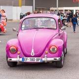 AGDE, FRANKRIJK - SEPTEMBER 9, 2017: Roze stock afbeelding