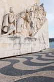 Age of Discoveries monument in Lisbon, Portugal Royalty Free Stock Image