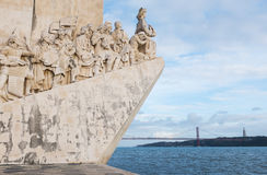 Age of Discoveries monument in Lisbon, Portugal Stock Images