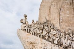 Age of discovery monument. Portugal, age of discovery monument in Lisbon Royalty Free Stock Photography