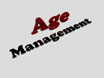 Age Management Royalty Free Stock Photography