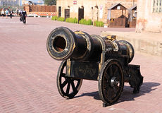 Age-old cannon Stock Photos