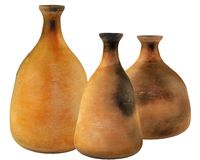 Age-old clay vessel Royalty Free Stock Photo