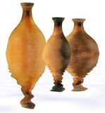 Age-old clay vessel Stock Image