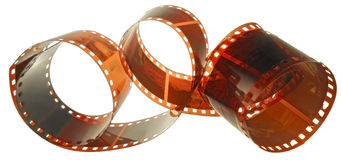 Age-old film Stock Image