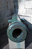 Age-old ship cannon Royalty Free Stock Images