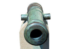 Age-old Ship Cannon Stock Photo
