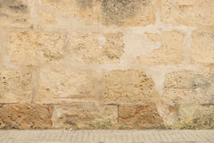 Age-old stone wall Royalty Free Stock Photos