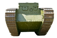Age-old tank of Мк V, male. Tank of the times of the First World War Stock Images