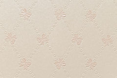Age-old wallpapers as a background from bows Royalty Free Stock Image