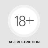 Age Restriction Flat Icon Royalty Free Stock Images