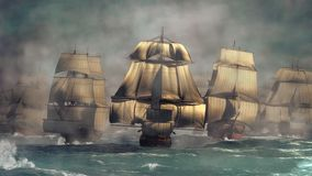 Age of Sail stock illustration