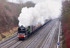 The Age of Steam, Vintage Locomotive Royalty Free Stock Photography