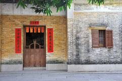 Aged architecture in Southern China Stock Image