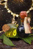 Aged balsamic vinegar Royalty Free Stock Photos