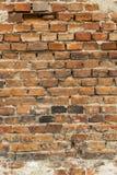 Aged Birck Wall Stock Image