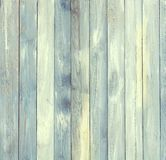 Aged Board with blue tint with vertical lines royalty free stock photo