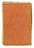Aged book cover Stock Photo