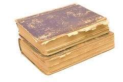 Aged books Royalty Free Stock Images