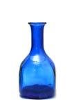 Aged bottle isolated on the white Stock Image