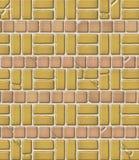aged brick pattern tile Στοκ φωτογραφία με δικαίωμα ελεύθερης χρήσης