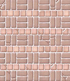 aged brick pattern tile Στοκ Εικόνες