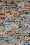 Aged brick wall background Stock Photos