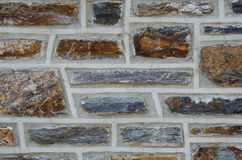 Aged Brick Wall Close Up Royalty Free Stock Photo