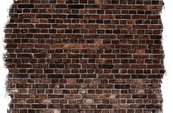 Aged brick wall texture Stock Image
