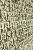 Aged brick wall texture Stock Photography