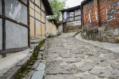 Aged buildings in small town,China Stock Photos