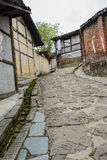 Aged buildings in small town,China Stock Photography