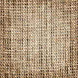 Aged burlap texture Stock Photos